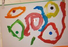 """LA CLASE DE MIREN: mis experiencias en el aula: TALLER DE GRAFISMO: """"CUIDADO CON LOS PEATONES"""""""