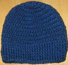 Bevs Be Warm hat, Free pattern, sized infant to men's