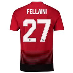 Manchester United Home Cup Shirt 2018-19 with Fellaini 27 printing 88bad3345