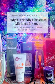 Budget-Friendly Christmas Gift Ideas for 2020 Holiday Gift Guide, Holiday Gifts, Christmas Gifts, Christmas Recipes, Hotel Chocolate, Big Candles, Seasonal Celebration, Blog Love, All Gifts