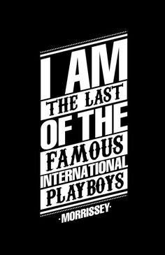 #Morrissey El José José del pop británico, como dijo @Maria Canavello Mrasek Canavello Mrasek Delirium