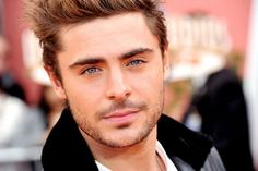 Zac Efron. If we ever meet, I will not hesitate to kiss you. Or propose. Either one!