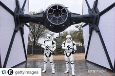 Got to shoot storm troopers this morning for @gettyimages and Disney! by vivienphotos