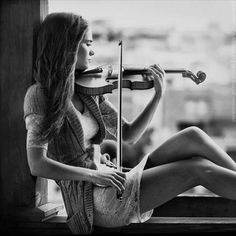 Violin window
