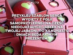 Można także na jabłoni sąsiada spróbować:-)