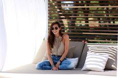 Inma (Coohoco Blog) with Salsa boyfriend jeans