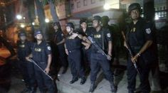 Dhaka attack: Bangladesh says some hostages freed as troops storm cafe LIVE: Gulshan host. Local Police Station, Al Qaeda, Current Events, Ramadan, News, Mail Online, Troops, Daily Mail, Venezuela