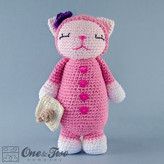 Ravelry: Kitty Amigurumi pattern by Carolina Guzman