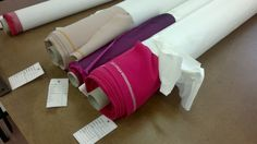 Finally fabrics!! Starting to create our models Proudly Made in Italy