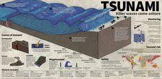 Killer Wave Tsunami Infographic, Tsunami Preparedness Week, #TsunamiPrep