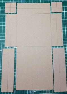 Noor! Design Challenge - Doosje Envelope Book, Envelope Punch Board, Cardboard Box Crafts, 3d Paper Crafts, Diy Gift Box, Diy Box, Fancy Fold Cards, Folded Cards, Envelope Tutorial