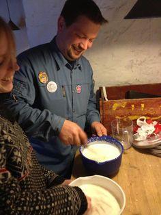 FDF #GUF kursus 2013 gruppe gourmet over bål Erik Lysemose