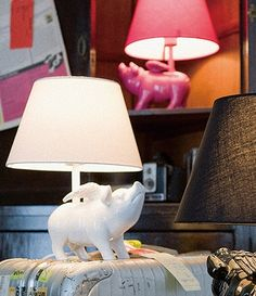 Flying Pig lamp - I don't know where I would put this, but I sure do love it!!!