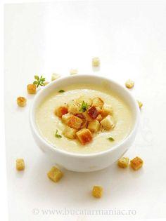 Supa- crema de telina | Bucatar Maniac Cheeseburger Chowder, Soup, Unt, Maya, Blog, Cream, Blogging, Soups, Maya Civilization