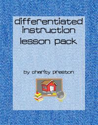 Differentiated Instruction Lesson Planning Pack. 3 templates to make setting up differentiated lessons easy! $2.75 theorganizedclassroomblog.com