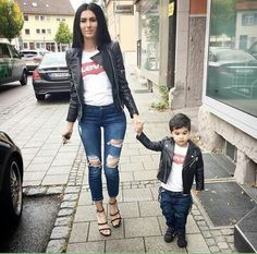 Pin by mari on mom & son outfits Mom And Son Outfits, Couple Outfits, Matching Family Outfits, Baby Boy Outfits, Kids Outfits, Baby Boy Fashion, Toddler Fashion, Kids Fashion, Mommy And Son