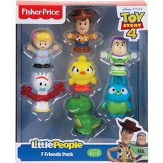 Fisher-Price Little People Disney Pixar Toy Story 4 Friends : Target Disney Pixar, Disney Toys, Disney Stuff, Baby Disney, Toys R Us, Kids Toys, Toy Story Birthday, 2nd Birthday, People Figures