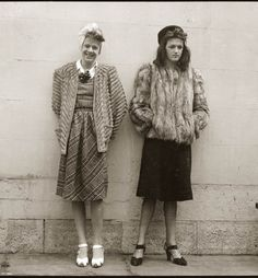 Two teenagers arrested in Australia for cross-dressing in the 20's. I think they look pretty fabulous. :)