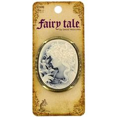 Fairy Tale by Bead Treasures Antique Brass Girl & Fairy Cameo Pendant | Shop Hobby Lobby