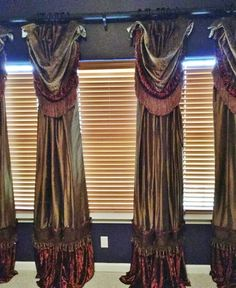Unique Curtains Custom Curtain Design Household Ideas