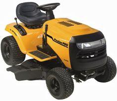 Poulan Pro Lawn Mower reviews: Poulan Pro Lawn Tractor PB17542LT 17.5 HP 6-Speed ...