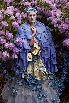 Wonderland : The Blue Saint by Kirsty Mitchell, via Flickr