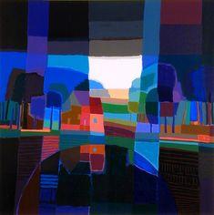 Ton Schulten | Bij de brug | Business Art Service (BAS) | Grootste kunstuitleen voor bedrijven en instellingen
