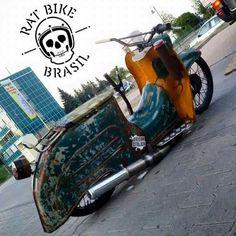 Rat bike Brazil