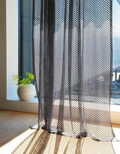 Rideau transparent - Des idées de rideaux pour faire rêver vos fenêtres  - Elle…