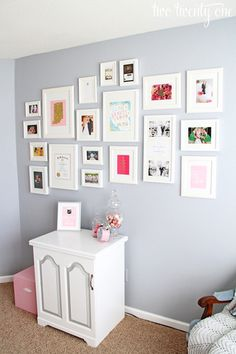 Home office cor de rosa