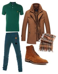 096fd5005e07 Autumn Type Men by maryoooo on Polyvore featuring Polo Ralph Lauren, Frye,  Black Brown