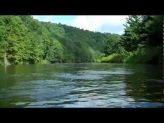 Tubing down the New River, North Carolina