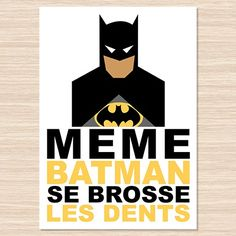 Affiche décorative Batman