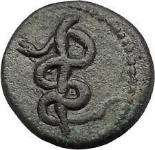 Rod of Medicine Serpent Greek Coin