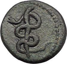 Rod of Medicine Serpent Greek Coin