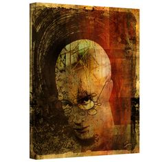 Greg Simanson 'Metro Brain' Gallery-Wrapped Canvas