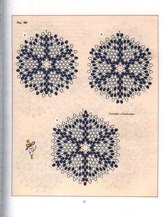 Peyote circular pattern