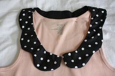 How To Peter Pan Collar Tank Top by iriskh, via Flickr