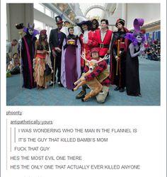Les vilains de Disney.