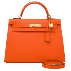 Hermès - Kelly 32 cm Epsom Orange