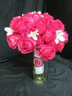 hot pink roses sep 15th 2012