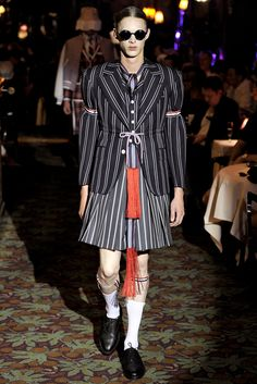 Thom Browne | Spring 2012 Menswear Collection | Style.com
