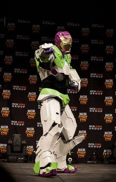 wonderful cosplay! iron lightyear!