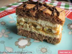 Fun Baking Recipes, Bread Recipes, Cake Recipes, Polish Desserts, Polish Recipes, Potica Bread Recipe, Polish Cake Recipe, Mousse Cake, Food Goals