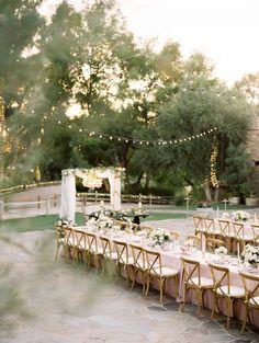 Wedding Venues Elegant Al Fresco wedding in Temecula Wine Country Romantic Wedding Receptions, Intimate Weddings, Wedding Table, Wedding Seating, Wedding Card, Party Wedding, Fall Wedding, Amazing Weddings, Real Weddings