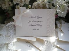 Y0010 10 x Ivory Thank You Special Day Wishing Tree Gift Tags