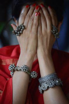 Maharani Baug/ Once Upon A Tea Time #jewelry #vintage #tribal