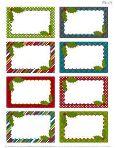 Printable Christmas Labels for Homemade Baking | Worldlabel Blog