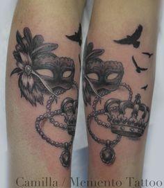Feminine tattoo - small, detailed fun!
