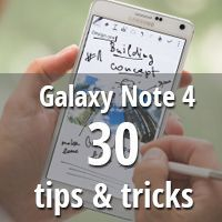 30 tips & tricks for the Samsung Galaxy Note 4 - S-Pen goods, motion controls and baby crying monitors galore! Great for new ios app idea http://blogregateapps.com
